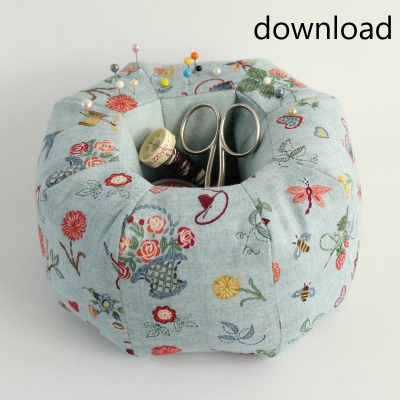 PINCUSHION WITH SPACE FOR THREAD PDF