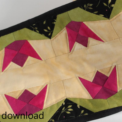 TULIP TABLE RUNNER PDF