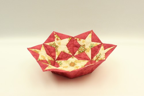 bowl in japanese folding patchwork